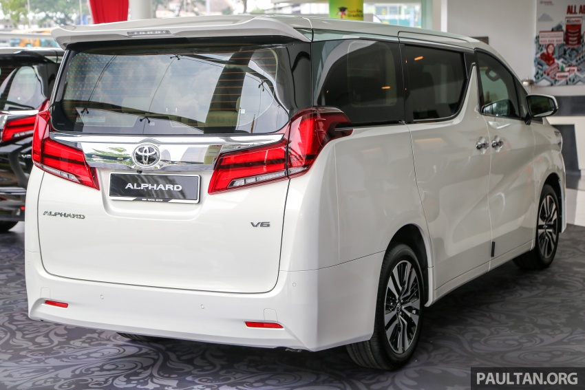 GALLERY: Toyota Alphard, Vellfire facelift previewed – full specifications, equipment detailed, RM351k-541k Image #792504