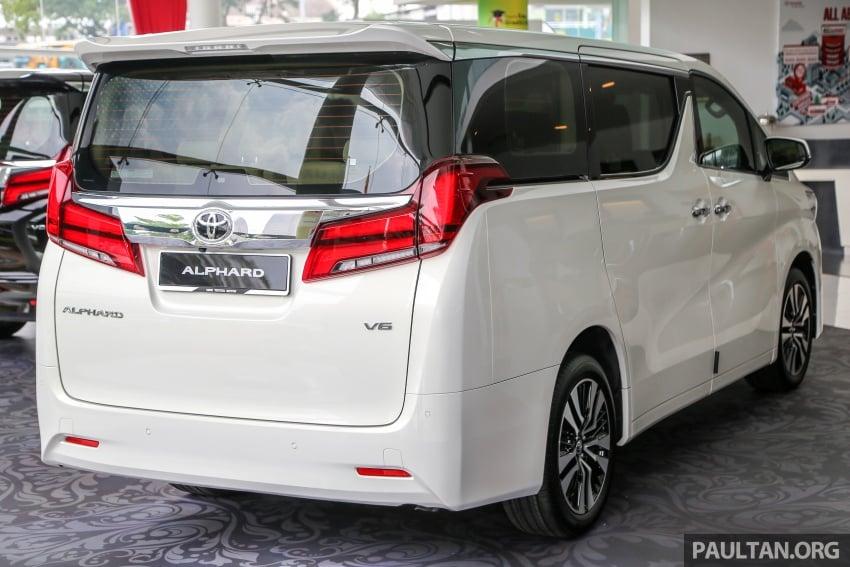 GALERI: Toyota Alphard, Vellfire facelift 2018 – senarai kelengkapan penuh, harga antara RM351k-RM541k Image #792652