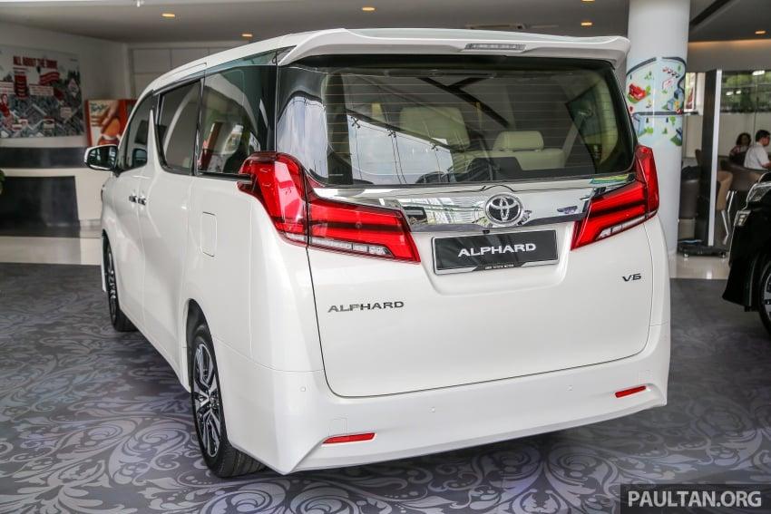 GALLERY: Toyota Alphard, Vellfire facelift previewed – full specifications, equipment detailed, RM351k-541k Image #792505