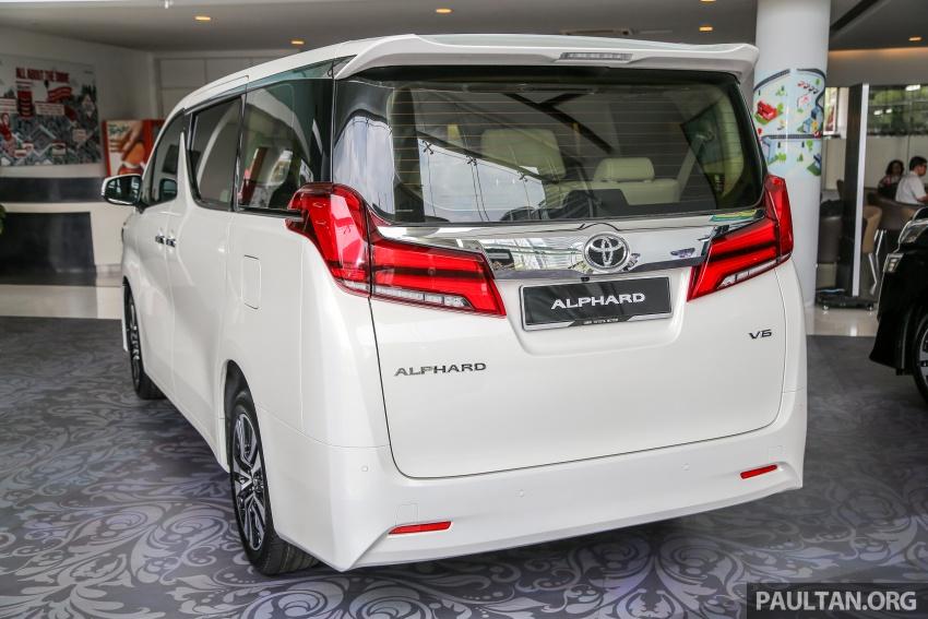 GALERI: Toyota Alphard, Vellfire facelift 2018 – senarai kelengkapan penuh, harga antara RM351k-RM541k Image #792653