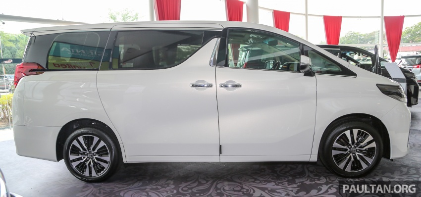 GALLERY: Toyota Alphard, Vellfire facelift previewed – full specifications, equipment detailed, RM351k-541k Image #792506
