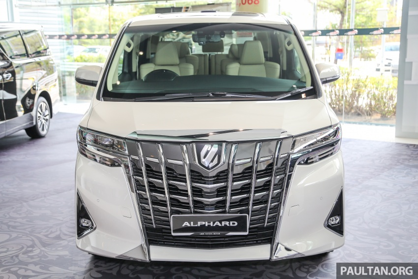 GALLERY: Toyota Alphard, Vellfire facelift previewed – full specifications, equipment detailed, RM351k-541k Image #792507