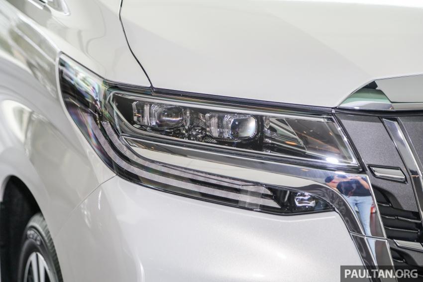 GALERI: Toyota Alphard, Vellfire facelift 2018 – senarai kelengkapan penuh, harga antara RM351k-RM541k Image #792658
