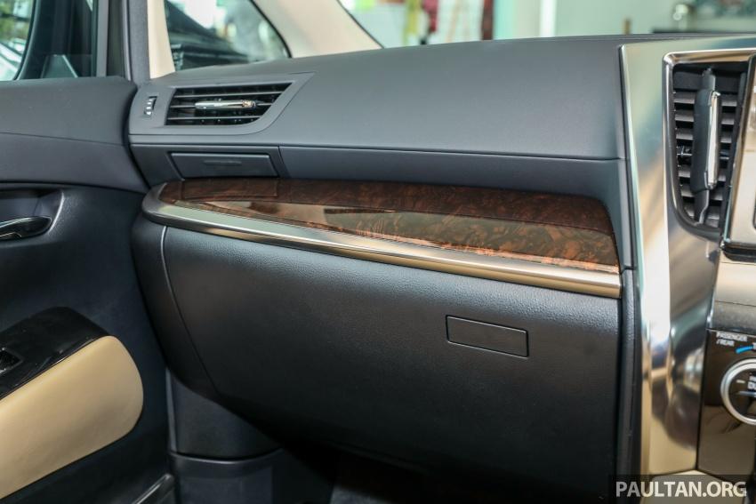 GALLERY: Toyota Alphard, Vellfire facelift previewed – full specifications, equipment detailed, RM351k-541k Image #792552