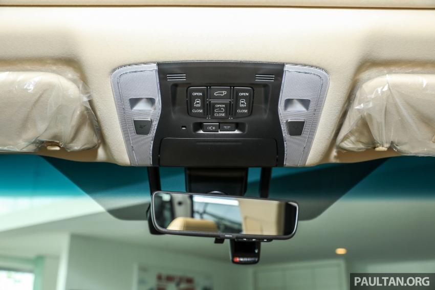 GALLERY: Toyota Alphard, Vellfire facelift previewed – full specifications, equipment detailed, RM351k-541k Image #792554