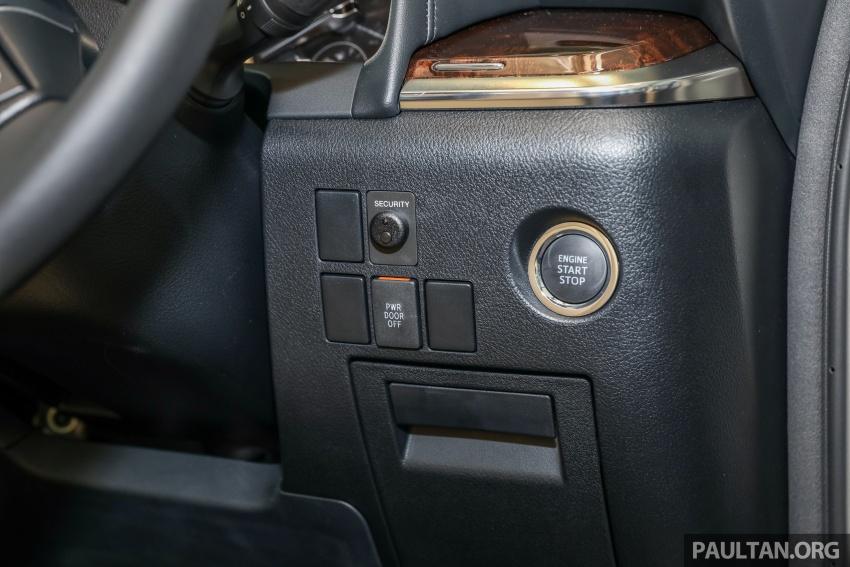 GALLERY: Toyota Alphard, Vellfire facelift previewed – full specifications, equipment detailed, RM351k-541k Image #792557