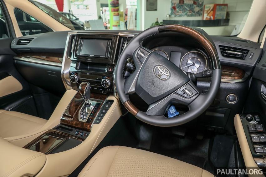 GALLERY: Toyota Alphard, Vellfire facelift previewed – full specifications, equipment detailed, RM351k-541k Image #792558