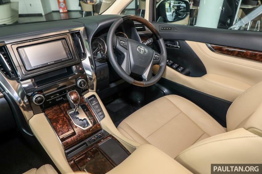 GALLERY: Toyota Alphard, Vellfire facelift previewed – full specifications, equipment detailed, RM351k-541k Image #792559