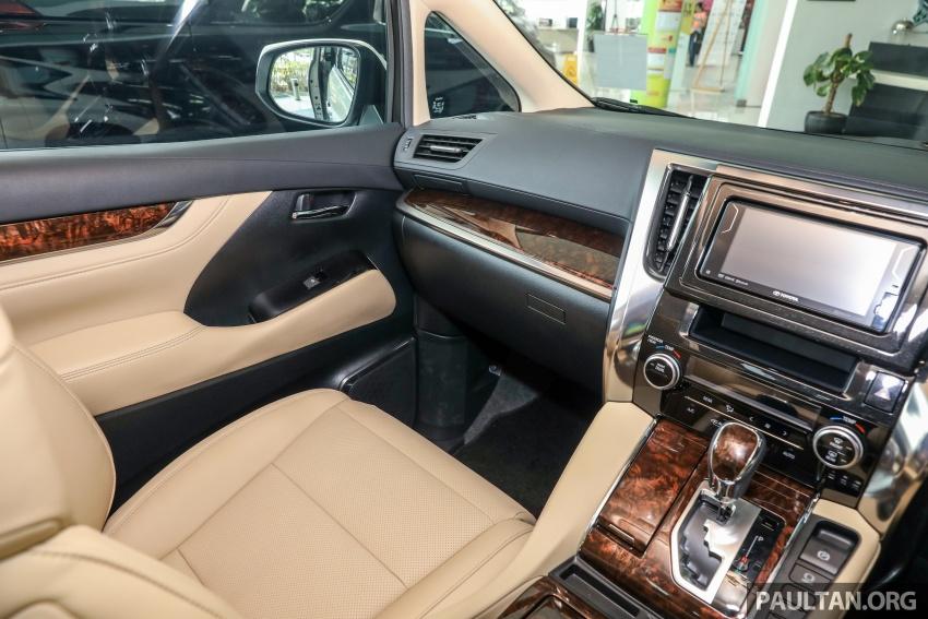 GALLERY: Toyota Alphard, Vellfire facelift previewed – full specifications, equipment detailed, RM351k-541k Image #792560