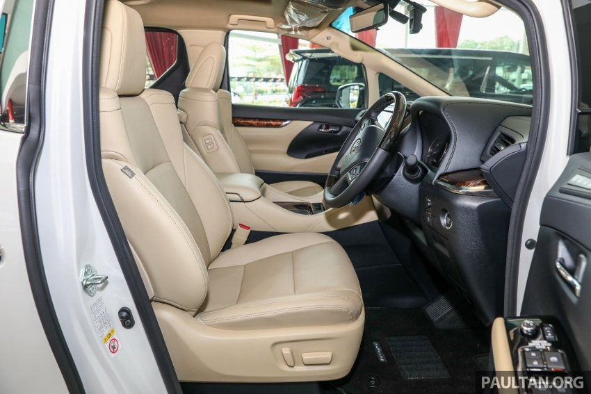 GALLERY: Toyota Alphard, Vellfire facelift previewed – full specifications, equipment detailed, RM351k-541k Image #792561