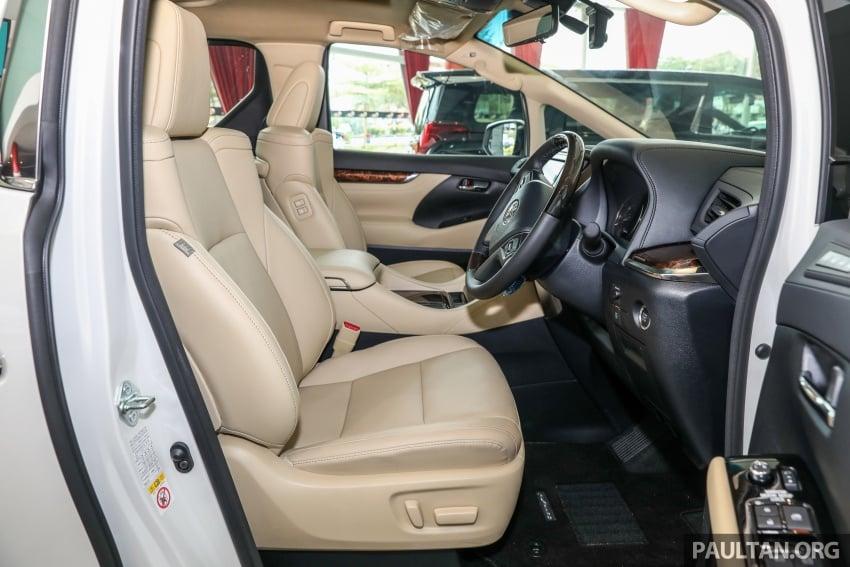 GALLERY: Toyota Alphard, Vellfire facelift previewed – full specifications, equipment detailed, RM351k-541k Image #792561