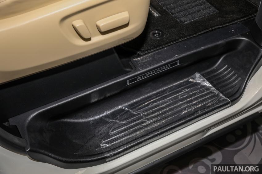 GALERI: Toyota Alphard, Vellfire facelift 2018 – senarai kelengkapan penuh, harga antara RM351k-RM541k Image #792699