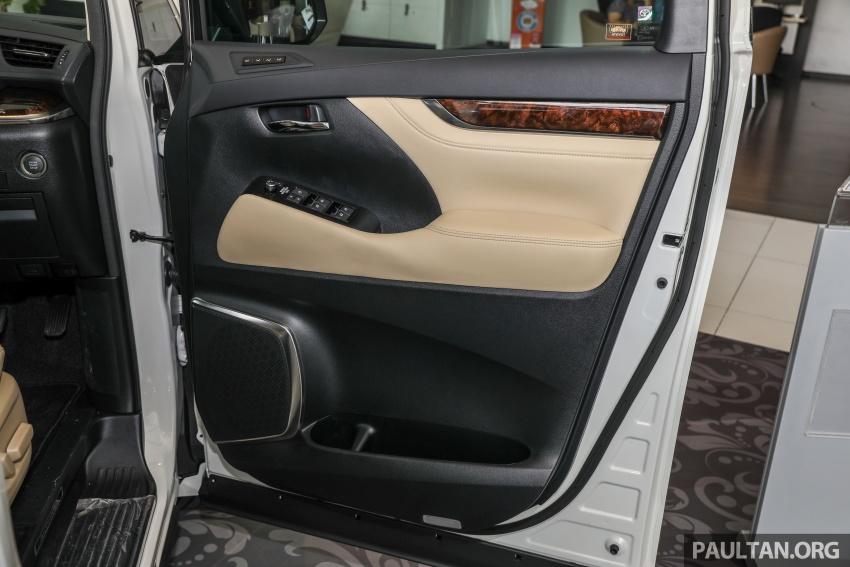 GALLERY: Toyota Alphard, Vellfire facelift previewed – full specifications, equipment detailed, RM351k-541k Image #792564