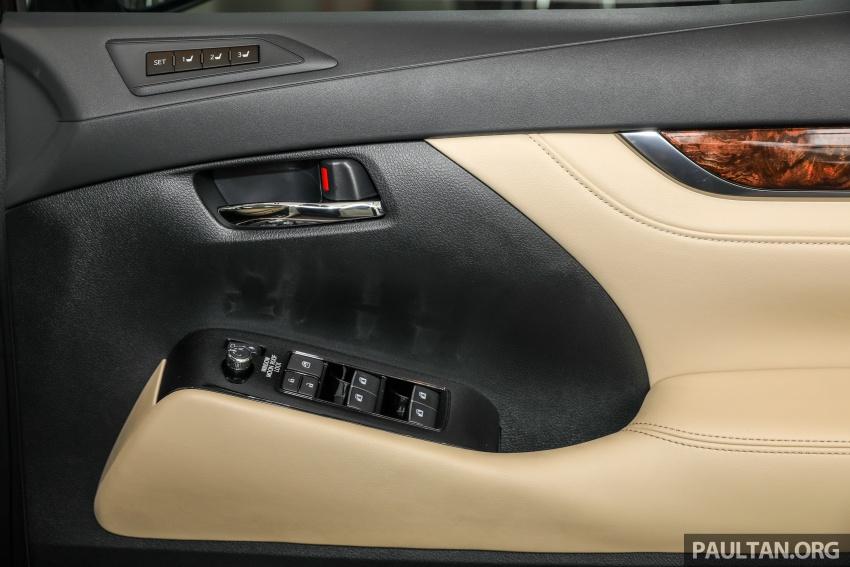 GALLERY: Toyota Alphard, Vellfire facelift previewed – full specifications, equipment detailed, RM351k-541k Image #792565