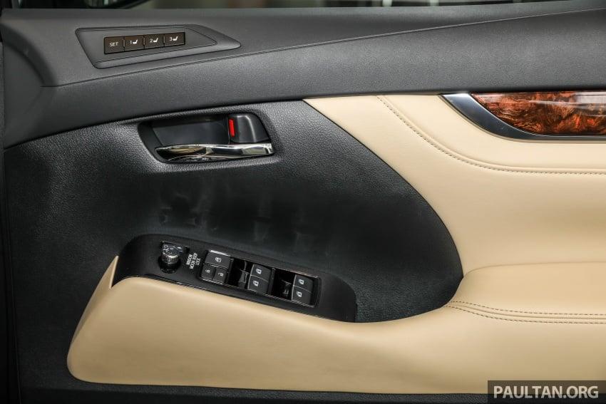 GALERI: Toyota Alphard, Vellfire facelift 2018 – senarai kelengkapan penuh, harga antara RM351k-RM541k Image #792701