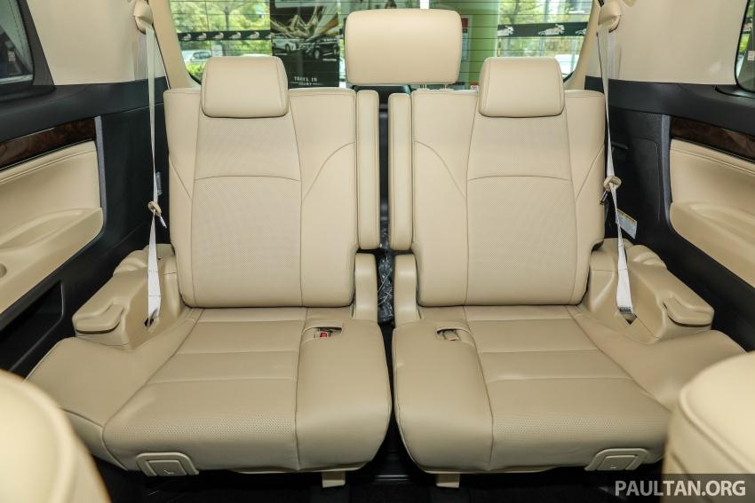 GALERI: Toyota Alphard, Vellfire facelift 2018 – senarai kelengkapan penuh, harga antara RM351k-RM541k Image #792711
