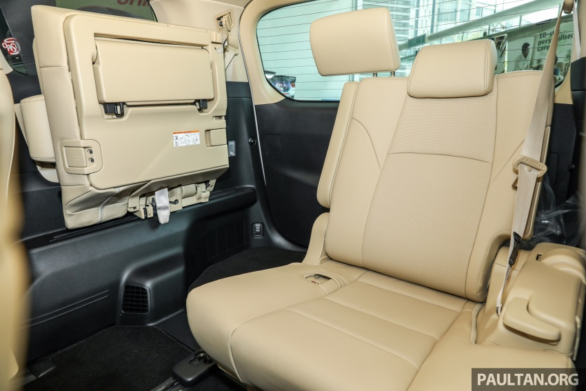 GALLERY: Toyota Alphard, Vellfire facelift previewed – full specifications, equipment detailed, RM351k-541k Image #792579