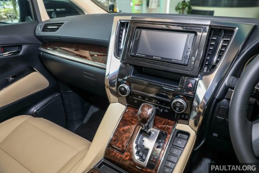 GALLERY: Toyota Alphard, Vellfire facelift previewed – full specifications, equipment detailed, RM351k-541k Image #792545