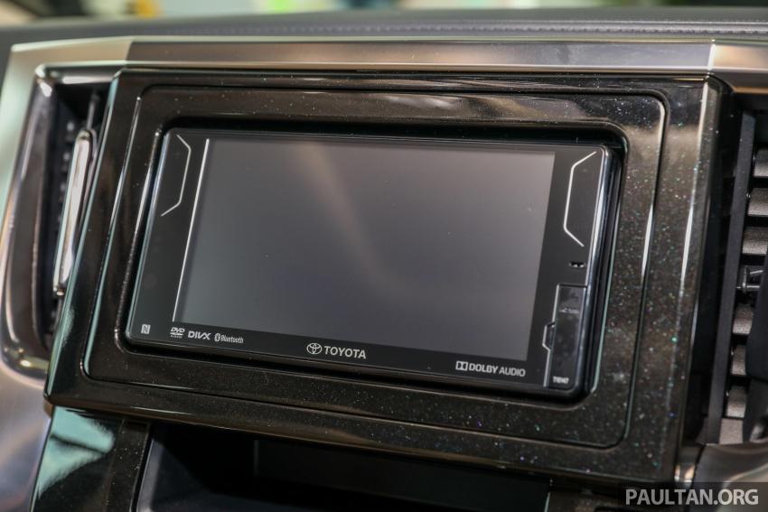 GALLERY: Toyota Alphard, Vellfire facelift previewed – full specifications, equipment detailed, RM351k-541k Image #792546