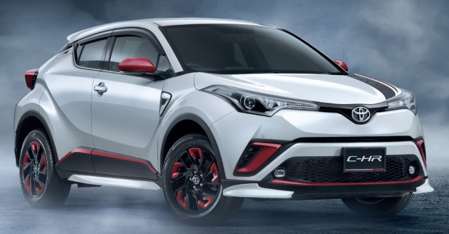 Chr Toyota Malaysia >> Toyota C-HR gets big range of accessories in Thailand