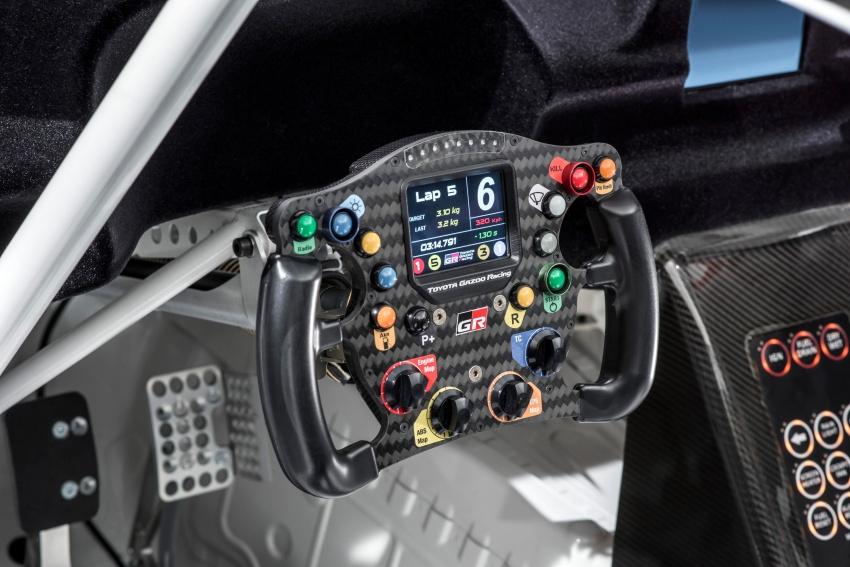 Toyota Supra generasi baharu dalam konsep model perlumbaan sebenar didedahkan di Geneva 2018 Image #786866