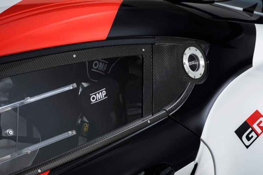 Toyota Supra generasi baharu dalam konsep model perlumbaan sebenar didedahkan di Geneva 2018 Image #786872