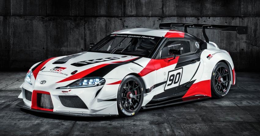 Toyota Supra generasi baharu dalam konsep model perlumbaan sebenar didedahkan di Geneva 2018 Image #786857