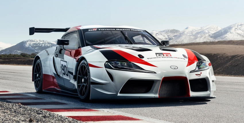 Toyota GR Supra Racing Concept – the legend returns Image #786854