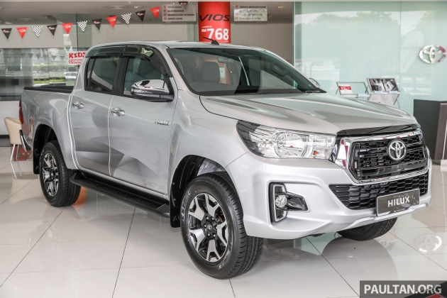 Gallery Toyota Hilux L Edition 2 4l At 4x4 Variant