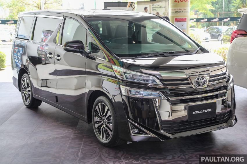GALLERY: Toyota Alphard, Vellfire facelift previewed – full specifications, equipment detailed, RM351k-541k Image #792870