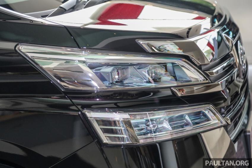GALERI: Toyota Alphard, Vellfire facelift 2018 – senarai kelengkapan penuh, harga antara RM351k-RM541k Image #792726