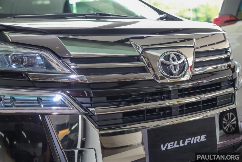 GALLERY: Toyota Alphard, Vellfire facelift previewed – full specifications, equipment detailed, RM351k-541k Image #792881