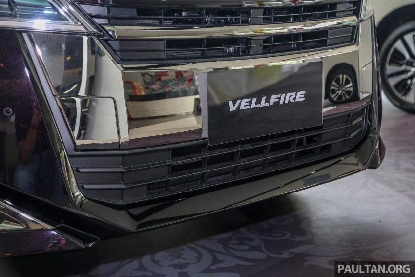 GALERI: Toyota Alphard, Vellfire facelift 2018 – senarai kelengkapan penuh, harga antara RM351k-RM541k Image #792729