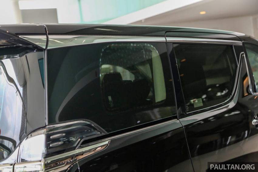 GALERI: Toyota Alphard, Vellfire facelift 2018 – senarai kelengkapan penuh, harga antara RM351k-RM541k Image #792734