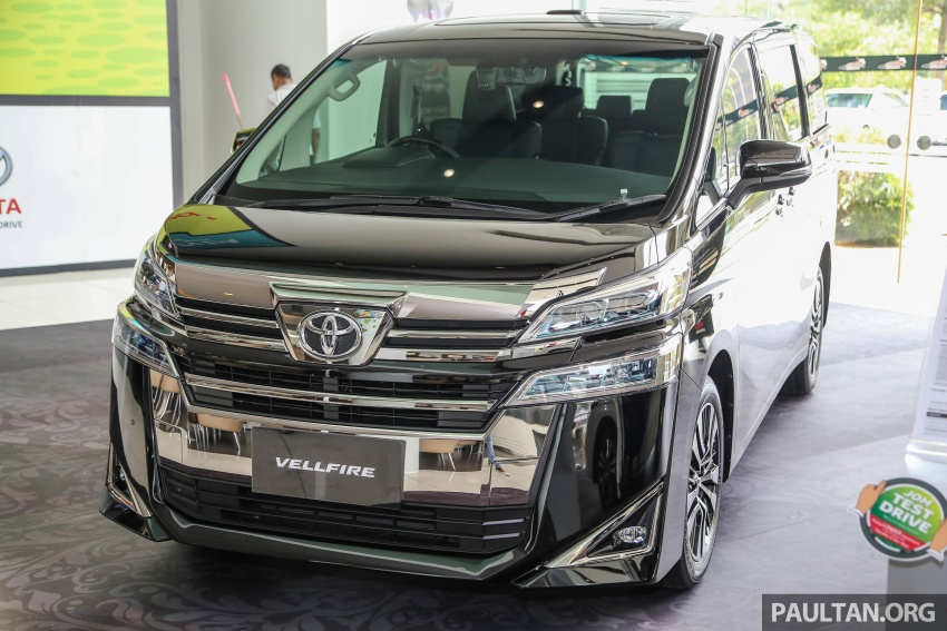 GALLERY: Toyota Alphard, Vellfire facelift previewed – full specifications, equipment detailed, RM351k-541k Image #792871