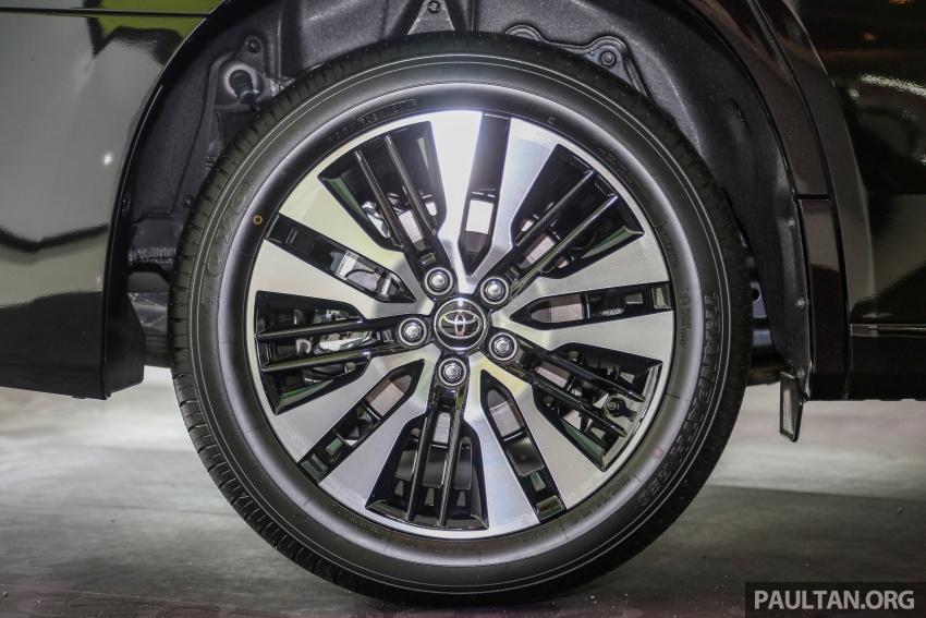 GALLERY: Toyota Alphard, Vellfire facelift previewed – full specifications, equipment detailed, RM351k-541k Image #792889