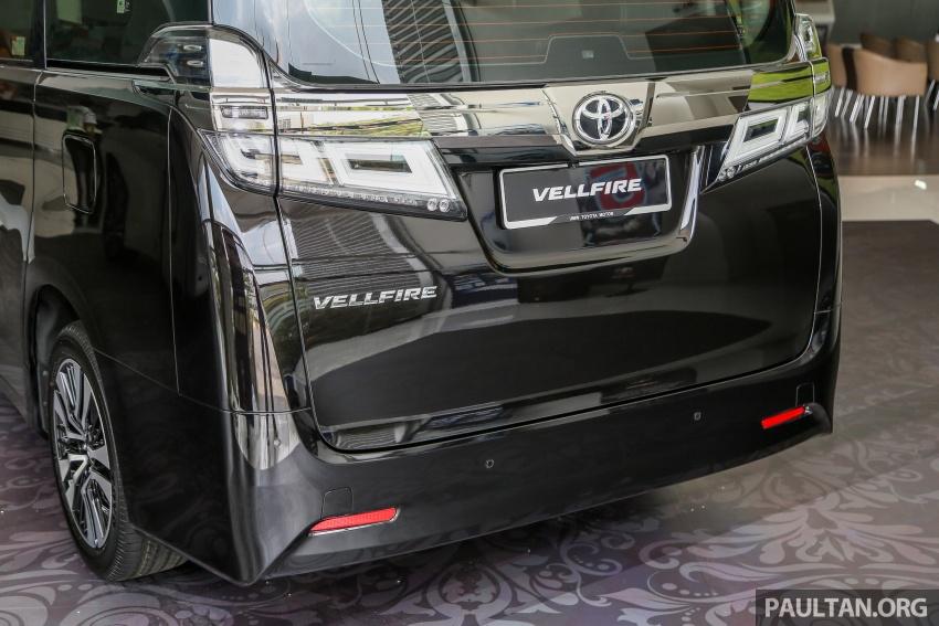 GALLERY: Toyota Alphard, Vellfire facelift previewed – full specifications, equipment detailed, RM351k-541k Image #792890