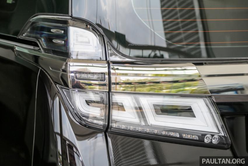 GALERI: Toyota Alphard, Vellfire facelift 2018 – senarai kelengkapan penuh, harga antara RM351k-RM541k Image #792738