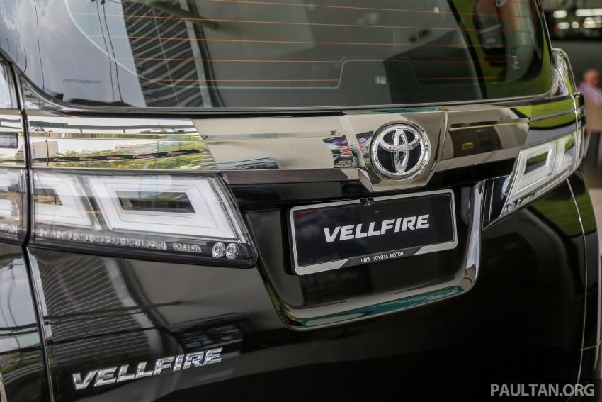 GALLERY: Toyota Alphard, Vellfire facelift previewed – full specifications, equipment detailed, RM351k-541k Image #792893