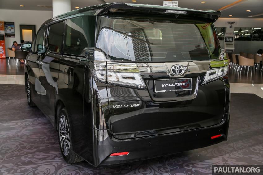 GALLERY: Toyota Alphard, Vellfire facelift previewed – full specifications, equipment detailed, RM351k-541k Image #792873