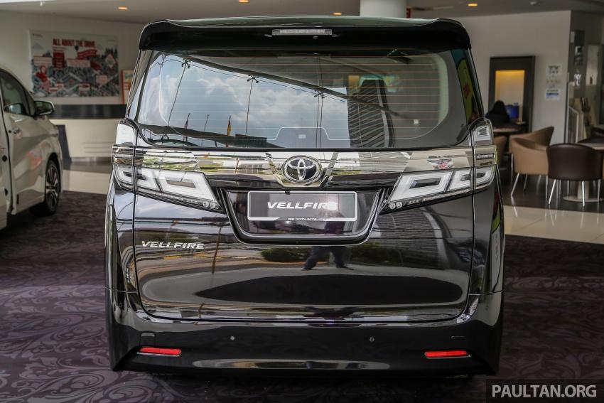 GALERI: Toyota Alphard, Vellfire facelift 2018 – senarai kelengkapan penuh, harga antara RM351k-RM541k Image #792723