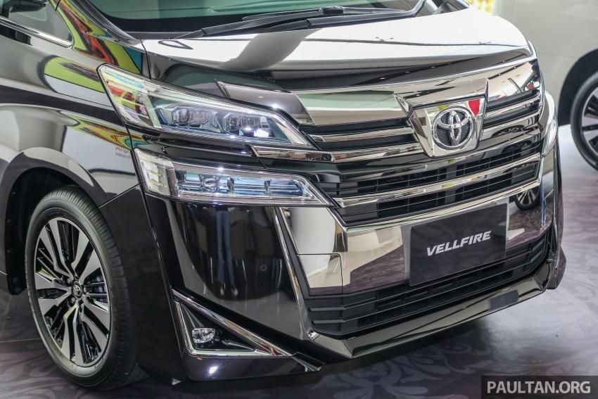 GALERI: Toyota Alphard, Vellfire facelift 2018 – senarai kelengkapan penuh, harga antara RM351k-RM541k Image #792724