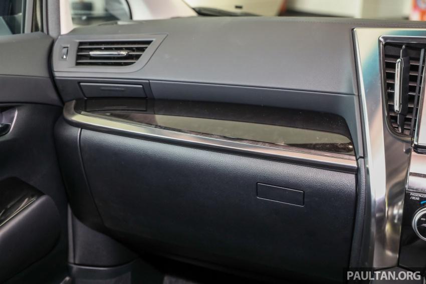 GALLERY: Toyota Alphard, Vellfire facelift previewed – full specifications, equipment detailed, RM351k-541k Image #792912
