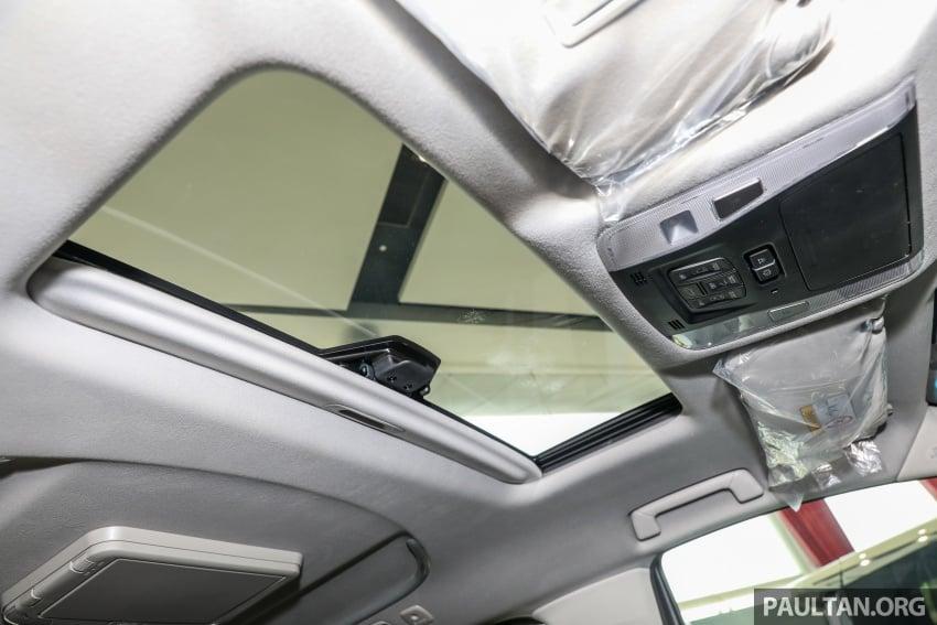 GALLERY: Toyota Alphard, Vellfire facelift previewed – full specifications, equipment detailed, RM351k-541k Image #792913