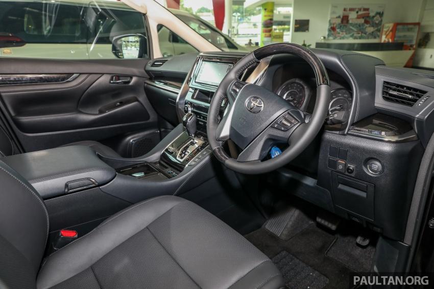 GALERI: Toyota Alphard, Vellfire facelift 2018 – senarai kelengkapan penuh, harga antara RM351k-RM541k Image #792746