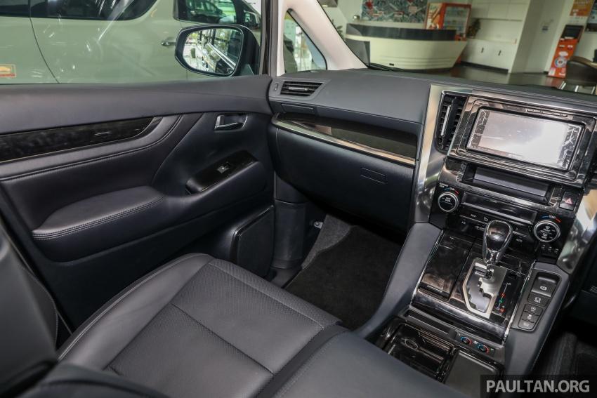 GALLERY: Toyota Alphard, Vellfire facelift previewed – full specifications, equipment detailed, RM351k-541k Image #792919