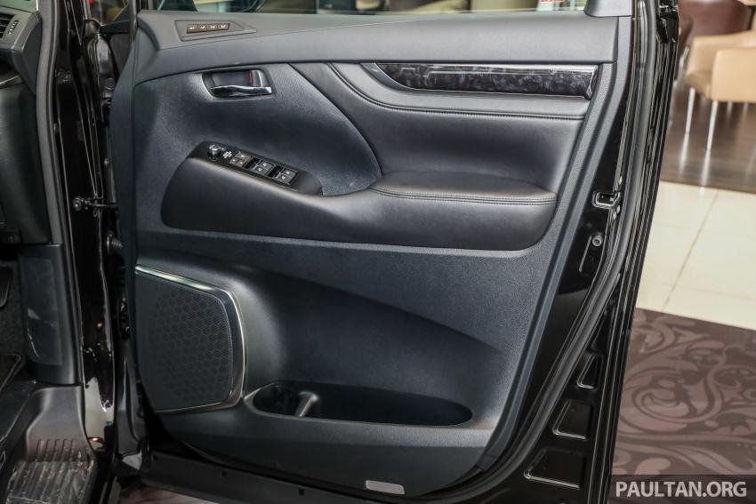 GALERI: Toyota Alphard, Vellfire facelift 2018 – senarai kelengkapan penuh, harga antara RM351k-RM541k Image #792770