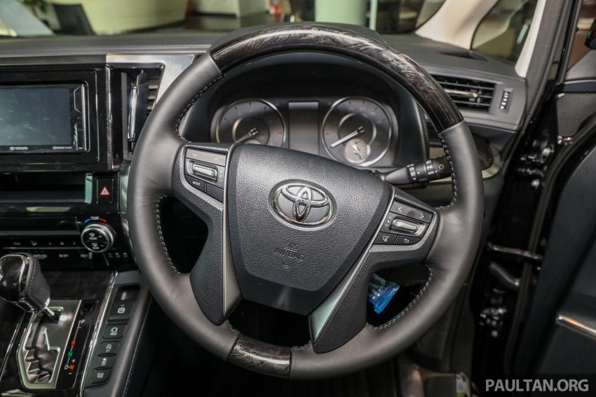 GALLERY: Toyota Alphard, Vellfire facelift previewed – full specifications, equipment detailed, RM351k-541k Image #792900