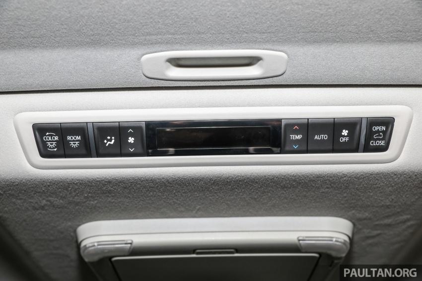 GALLERY: Toyota Alphard, Vellfire facelift previewed – full specifications, equipment detailed, RM351k-541k Image #792931