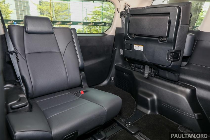 GALLERY: Toyota Alphard, Vellfire facelift previewed – full specifications, equipment detailed, RM351k-541k Image #792934
